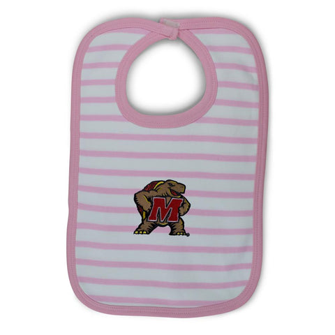 Maryland Infant Stripe Knit Bib