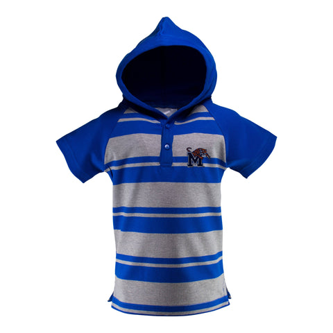 Two Feet Ahead - Memphis - Memphis Hooded T-Romper