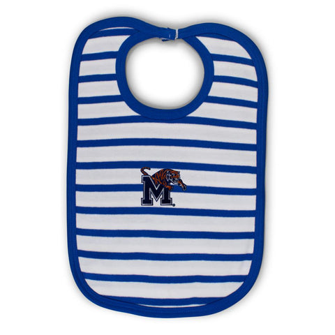 Two Feet Ahead - Memphis - Memphis Infant Stripe Knit Bib