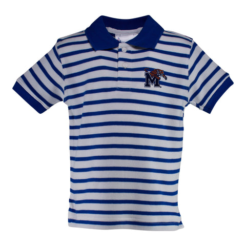 Two Feet Ahead - Memphis - Memphis Stripe Golf Shirt
