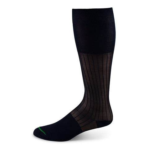 Two Feet Ahead - Socks - Men's Thick & Thin Over the Calf Dress Sock (1561)
