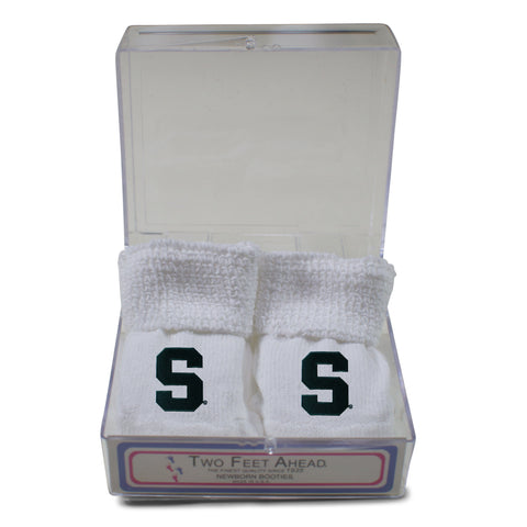 Two Feet Ahead - Michigan State - Michigan State Gift Box Bootie