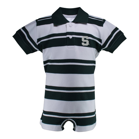 Two Feet Ahead - Michigan State - Michigan State Rugby T-Romper