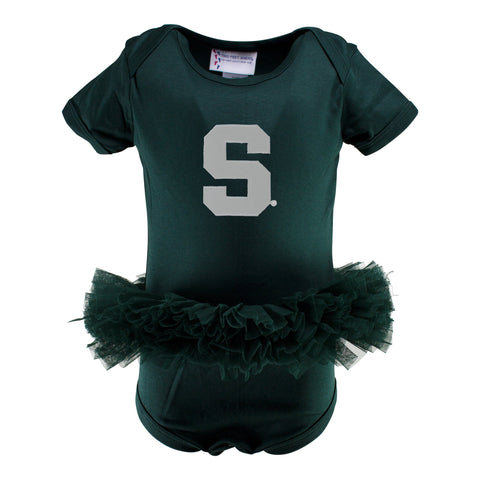Two Feet Ahead - Michigan State - Michigan State Tutu Creeper