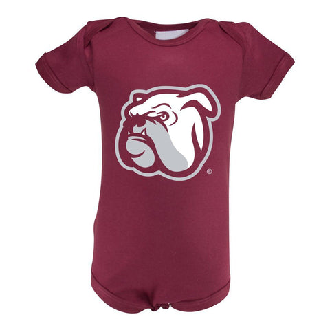 Two Feet Ahead - Mississippi State - Mississippi State Infant Lap Shoulder Creeper Print