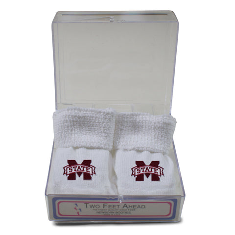 Two Feet Ahead - Mississippi State - Mississippi State Gift Box Bootie