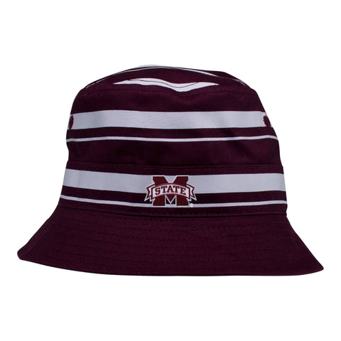 Two Feet Ahead - Mississippi State - Mississippi State Rugby Bucket Hat
