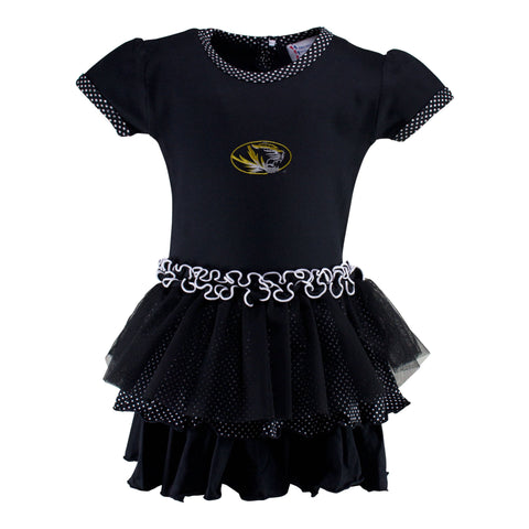 Two Feet Ahead - Missouri - Missouri Pin Dot Tutu Dress