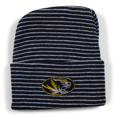 Two Feet Ahead - Missouri - Missouri Stripe Knit Cap