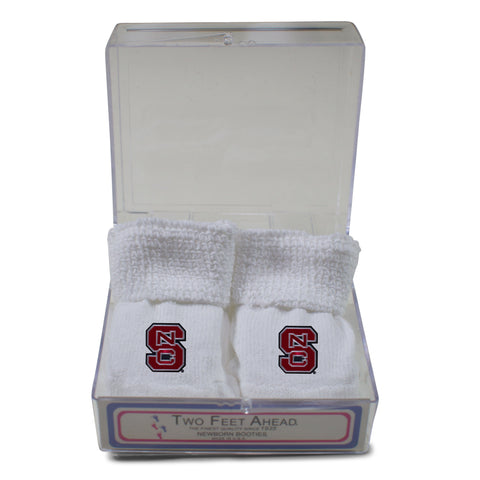 Two Feet Ahead - NC State - NC State Gift Box Bootie
