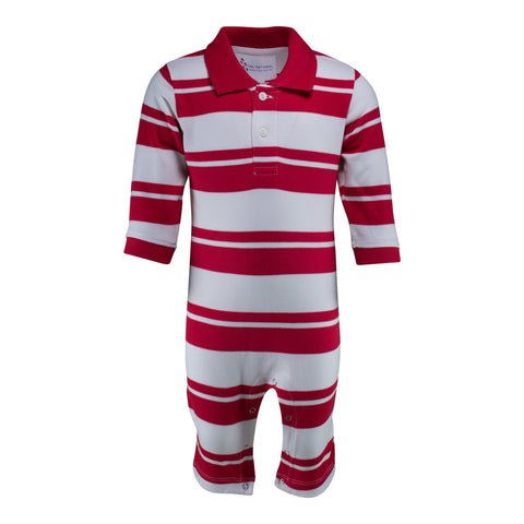 Two Feet Ahead - NC State - NC State Rugby Long Leg Romper