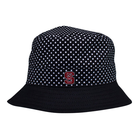 Two Feet Ahead - NC State - NC State Pin Dot Bucket Hat