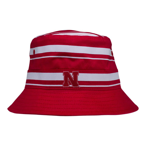 Two Feet Ahead - Nebraska - Nebraska Rugby Bucket Hat