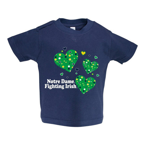 Notre Dame Toddler Short Sleeve T Shirt Print