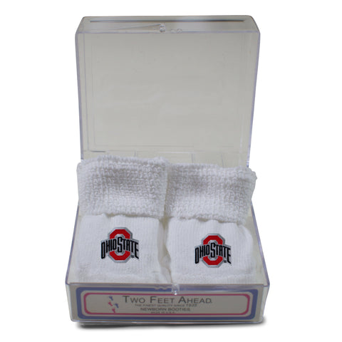 Two Feet Ahead - Ohio State - Ohio State Gift Box Bootie