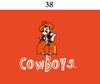 Two Feet Ahead - Oklahoma State - Oklahoma State Toddler Short Sleeve T Shirt Print