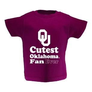 Oklahoma Toddler Short Sleeve T Shirt Print
