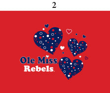Ole Miss Toddler Short Sleeve T Shirt Print