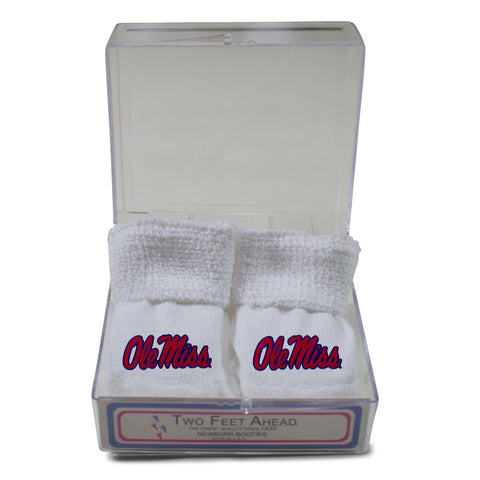 Two Feet Ahead - Ole Miss - Ole Miss Gift Box Bootie
