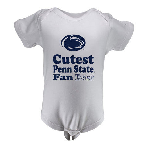 Penn State Infant Lap Shoulder Creeper Print