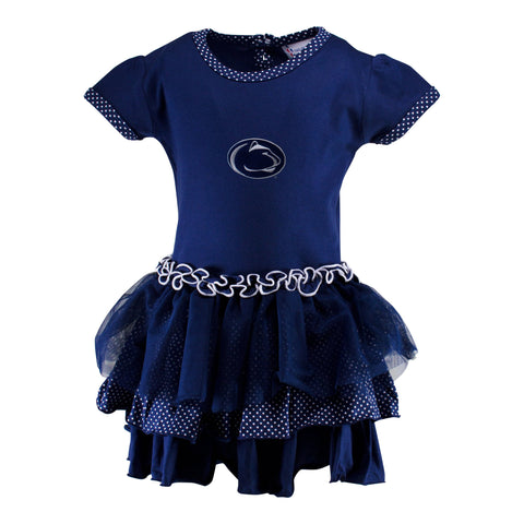 Two Feet Ahead - Penn state - Penn State Pin Dot Tutu Dress