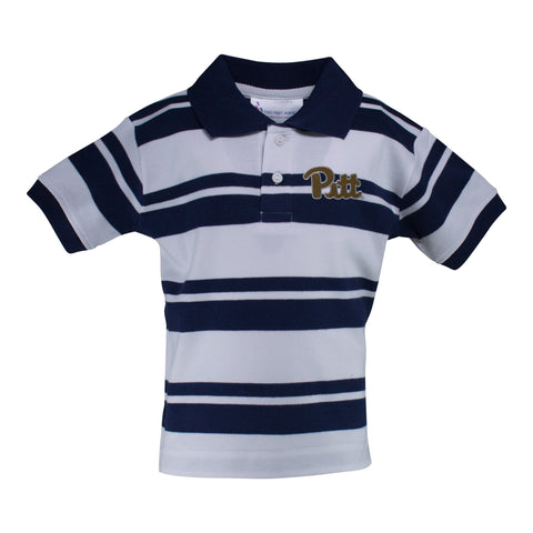 Two Feet Ahead - Pitt - Pitt Rugby Golf Shirt
