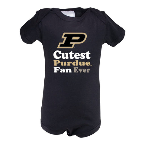 Purdue Infant Lap Shoulder Creeper Print