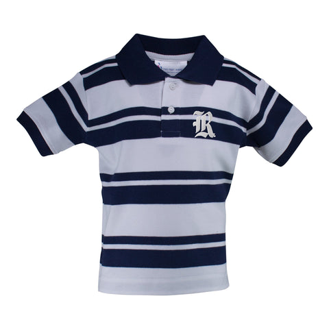 Two Feet Ahead - Rice - Rice Rugby Golf Shirt
