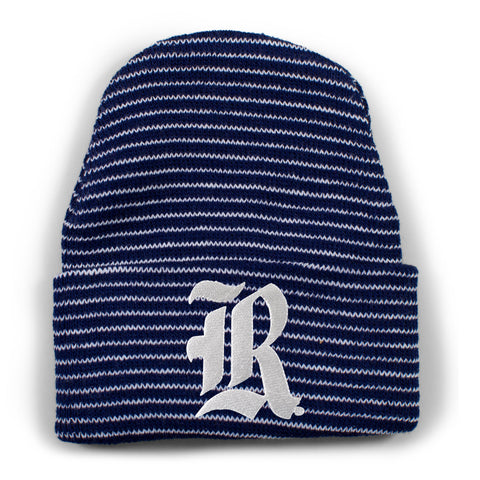 Two Feet Ahead - Rice - Rice Stripe Knit Cap