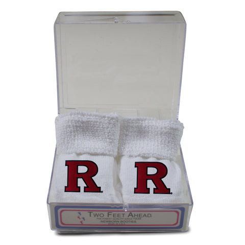 Two Feet Ahead - Rutgers - Rutgers Gift Box Bootie