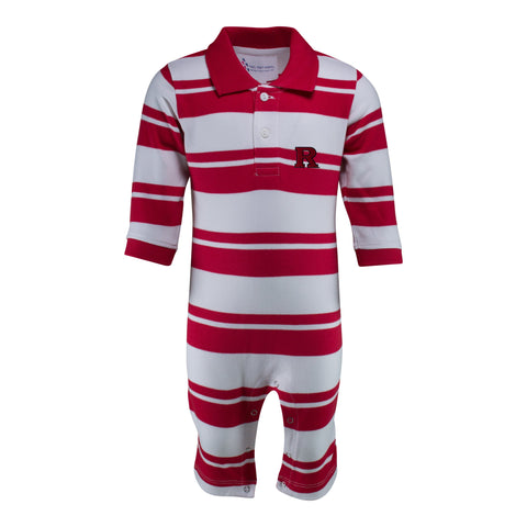 Two Feet Ahead - Rutgers - Rutgers Rugby Long Leg Romper
