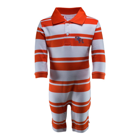 Two Feet Ahead - Sam Houston - Sam Houston Rugby Long Leg Romper