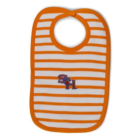Two Feet Ahead - Sam Houston - Sam Houston Infant Stripe Knit Bib