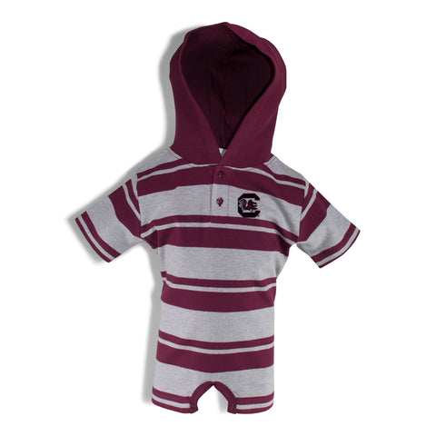Two Feet Ahead - South Carolina - South Carolina Hooded T-Romper