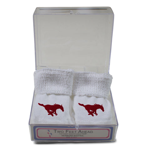 Two Feet Ahead - Southern Methodist - Southern Methodist Gift Box Bootie
