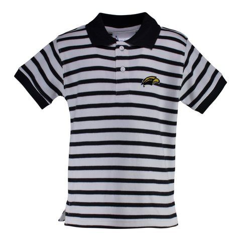Two Feet Ahead - Southern Miss - Southern Miss Stripe Golf Shirt