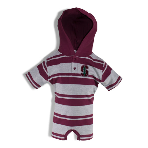 Two Feet Ahead - Stanford - Stanford Hooded T-Romper
