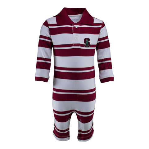 Two Feet Ahead - Stanford - Stanford Rugby Long Leg Romper