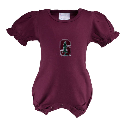Two Feet Ahead - Stanford - Stanford Girl's Romper