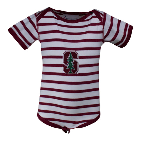 Stanford Stripe Lap Shoulder Creeper