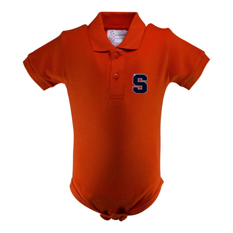 Two Feet Ahead - Syracuse - Syracuse Golf Shirt Romper