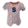 Syracuse Polka Dot Girl's Romper