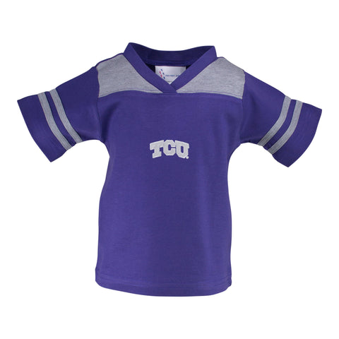 Two Feet Ahead - Texas Christian University - Texas Christian University Football T-Shirt