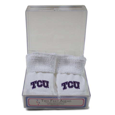 Two Feet Ahead - Texas Christian University - Texas Christian University Gift Box Bootie