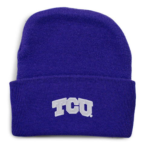 Two Feet Ahead - Texas Christian University - Texas Christian University Knit Cap