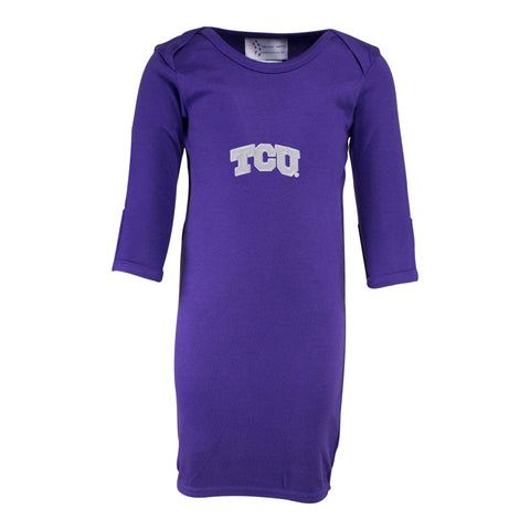 Two Feet Ahead - Texas Christian University - Texas Christian University Layette Gown
