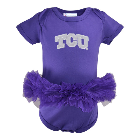 Two Feet Ahead - Texas Christian University - Texas Christian University Tutu Creeper