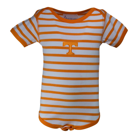 Two Feet Ahead - Tennessee - Tennessee Stripe Lap Shoulder Creeper
