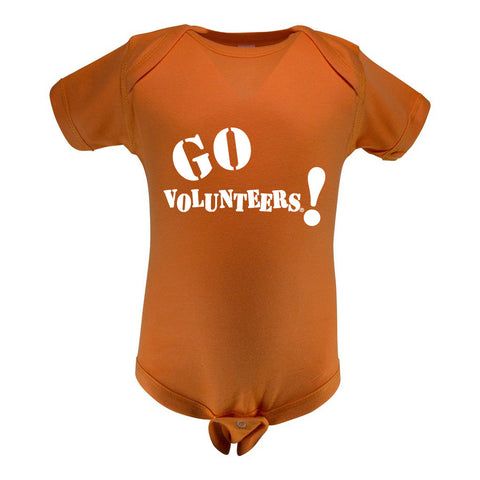 Two Feet Ahead - Tennessee - Tennessee Infant Lap Shoulder Creeper Print