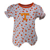 Tennessee Polka Dot Girl's Romper